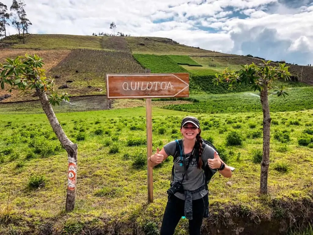 Day 3: The final stretch to Quilotoa Crater Lake