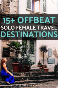 15+ off beat solo female travel destinations