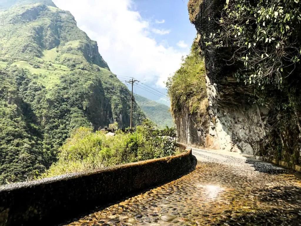 a portion of the ruta de las cascadas