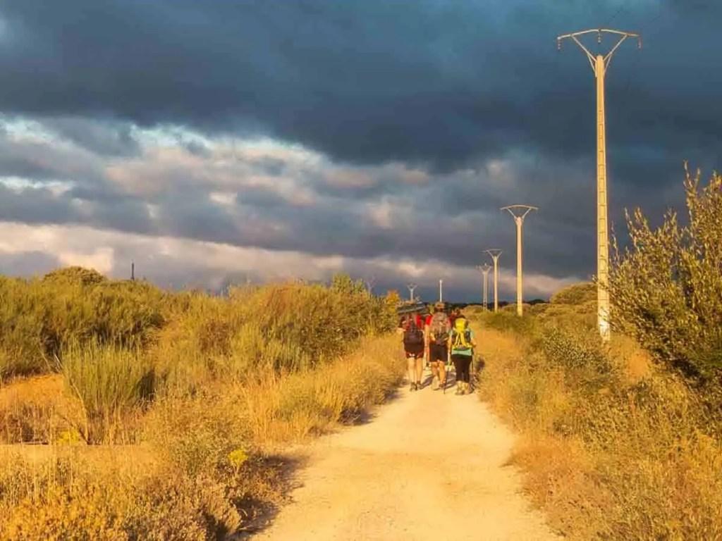 Hiking the Camino de Santiago. Photo c/o Carol