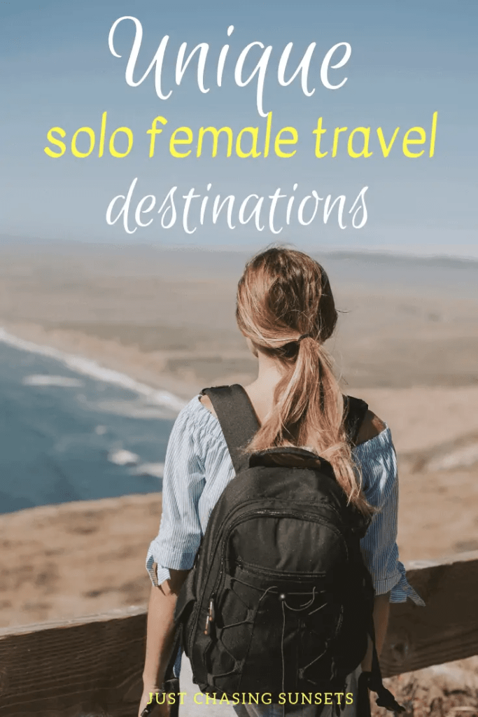 Unique solo female travel destinations