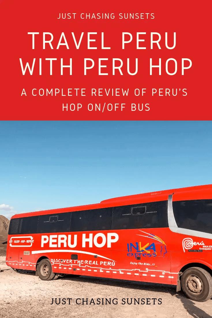 travel Peru with Peru Hop