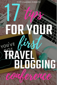 17 tips for your first travel blogging conference
