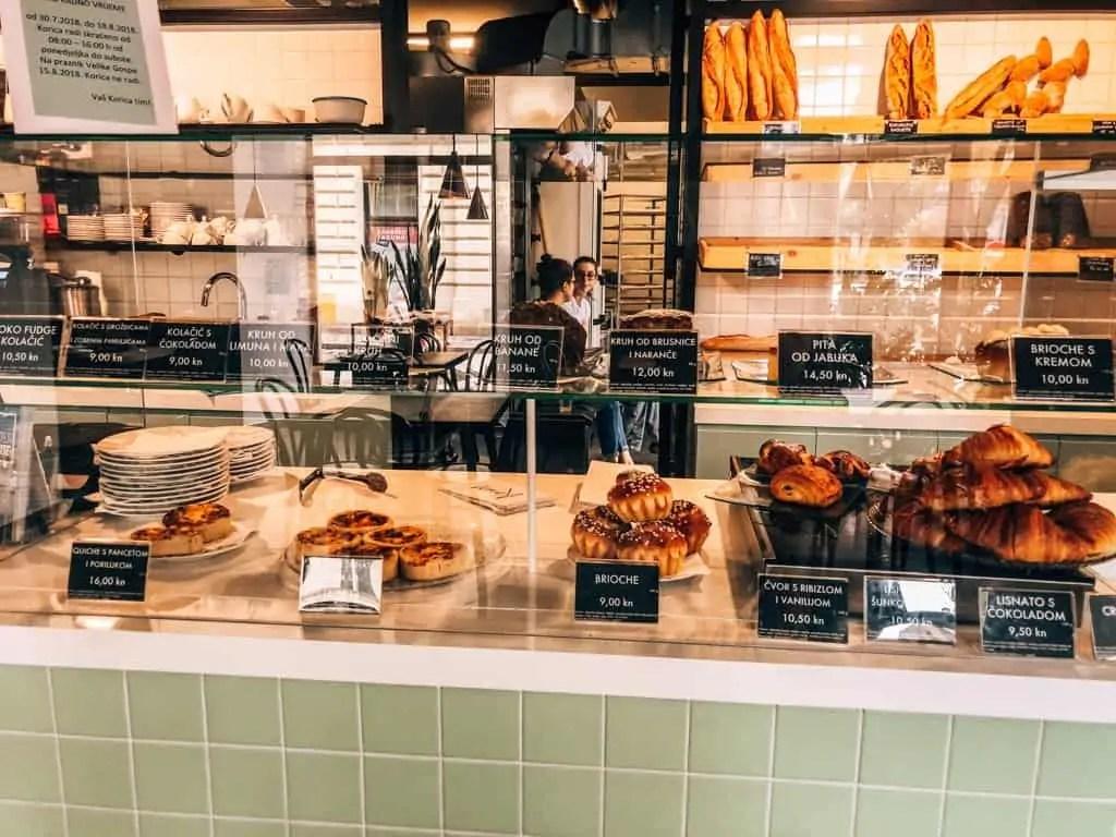 Korica Bakery Zagreb Croata