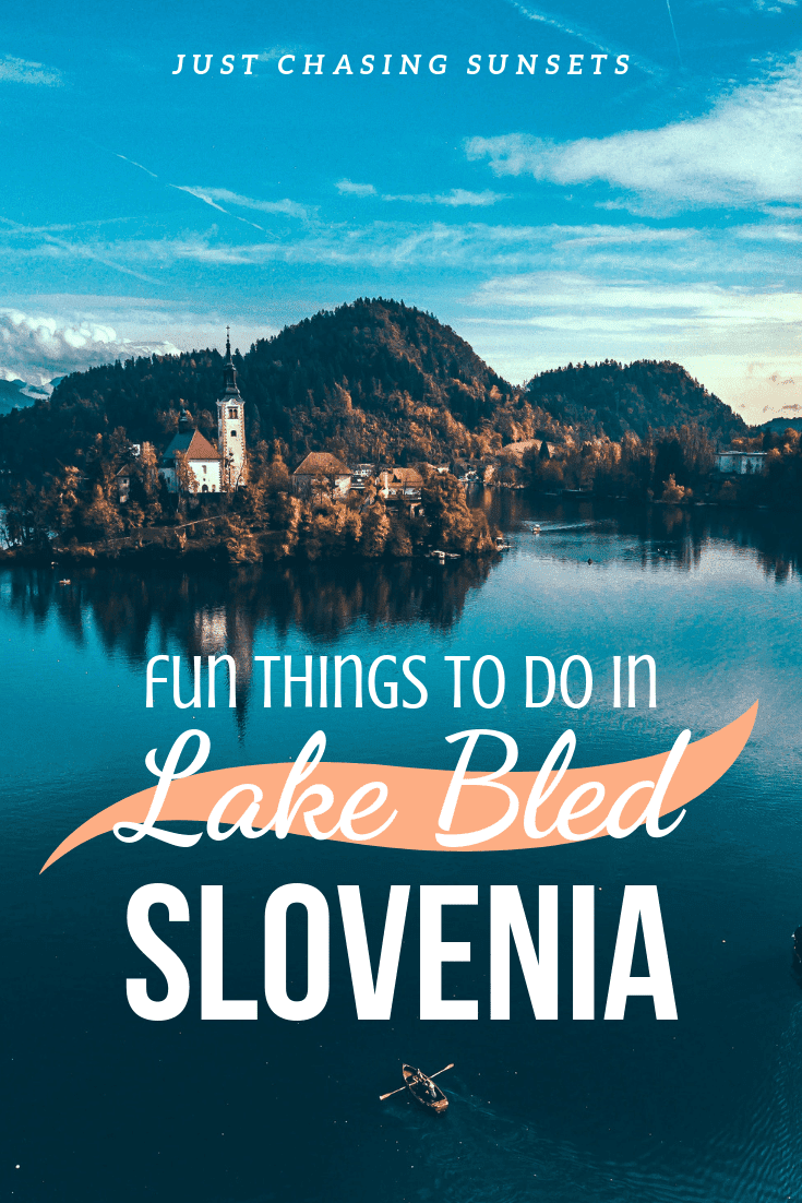 Everything you need to know about visiting Lake Bled in the summer!