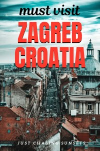 The best things to do in Zagreb, Croatia. Visit the Zagreb cathedral, eat food on Tkalciceva street, and so much more!