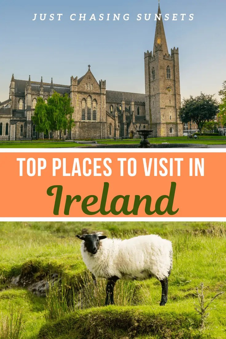Travel to Ireland and see the most beautiful landscapes and cities. This is the best Ireland bucket list.