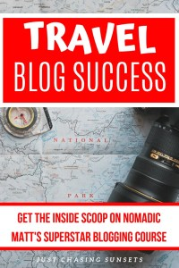 Get the inside scoop of Superstar blogging with this review of Nomadic Matt's travel blogging course