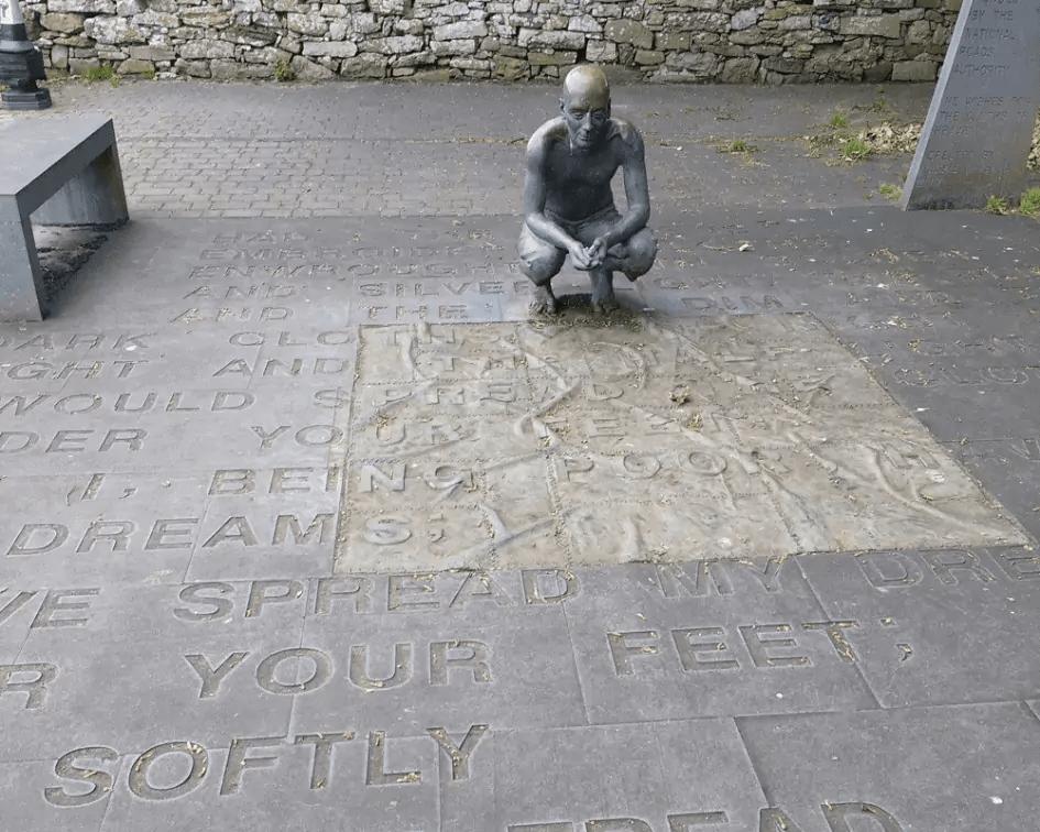 Yeats Statue, Sligo, Ireland by Faith