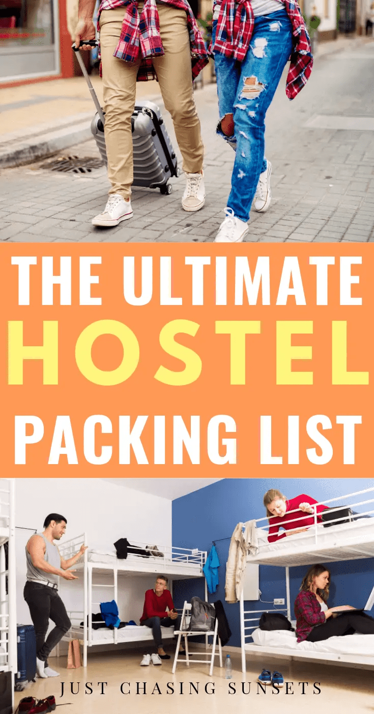 The Ultimate Hostel Packing List