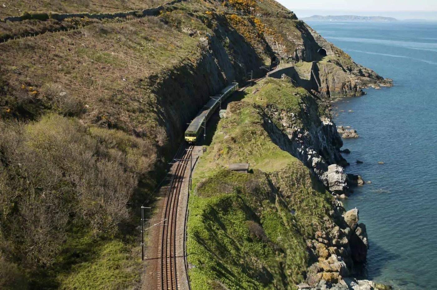 The Coastal Path follows this train route | c/o Deposit Photos