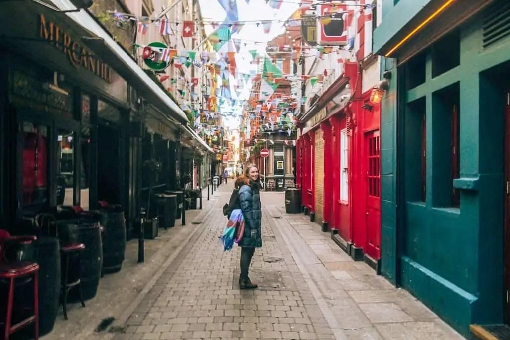 Pretty Dublin Street