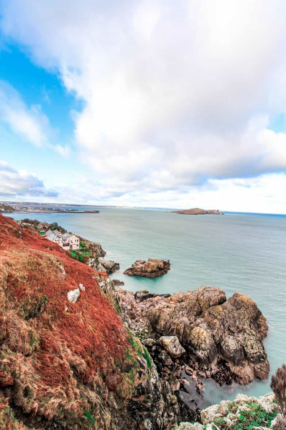 Views on the Howth Cliff Walk
