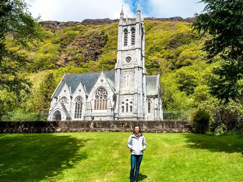 Gothic Church at Kylemore Abbey