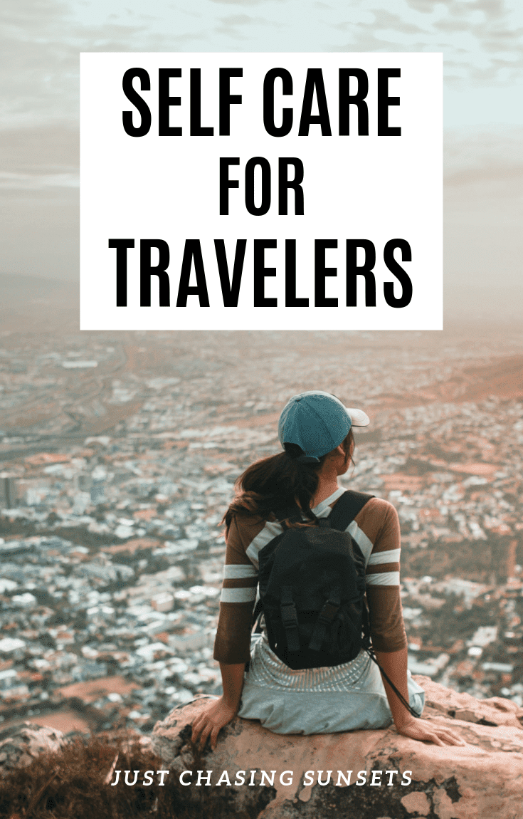 Self Care while traveling
