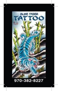 front - Blue Tiger