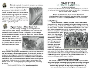 James Ranch Booklet June 2015