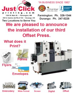 New Offset Press AD