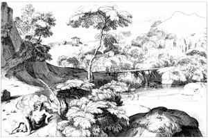 Landschaften  Malbuch Fur Erwachsene
