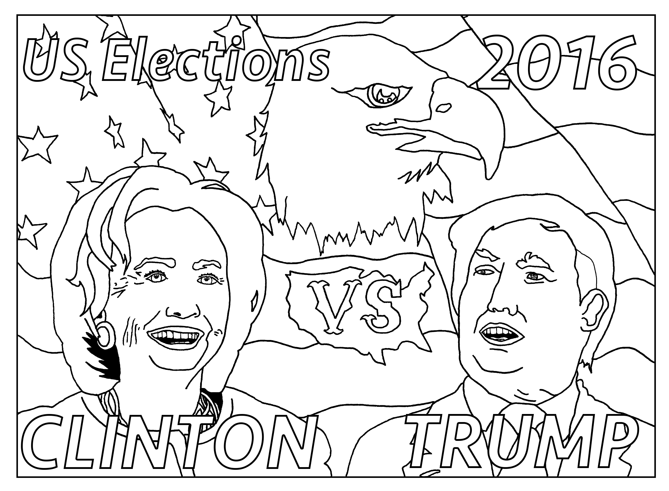 Us Presidential Elections Avec Texte