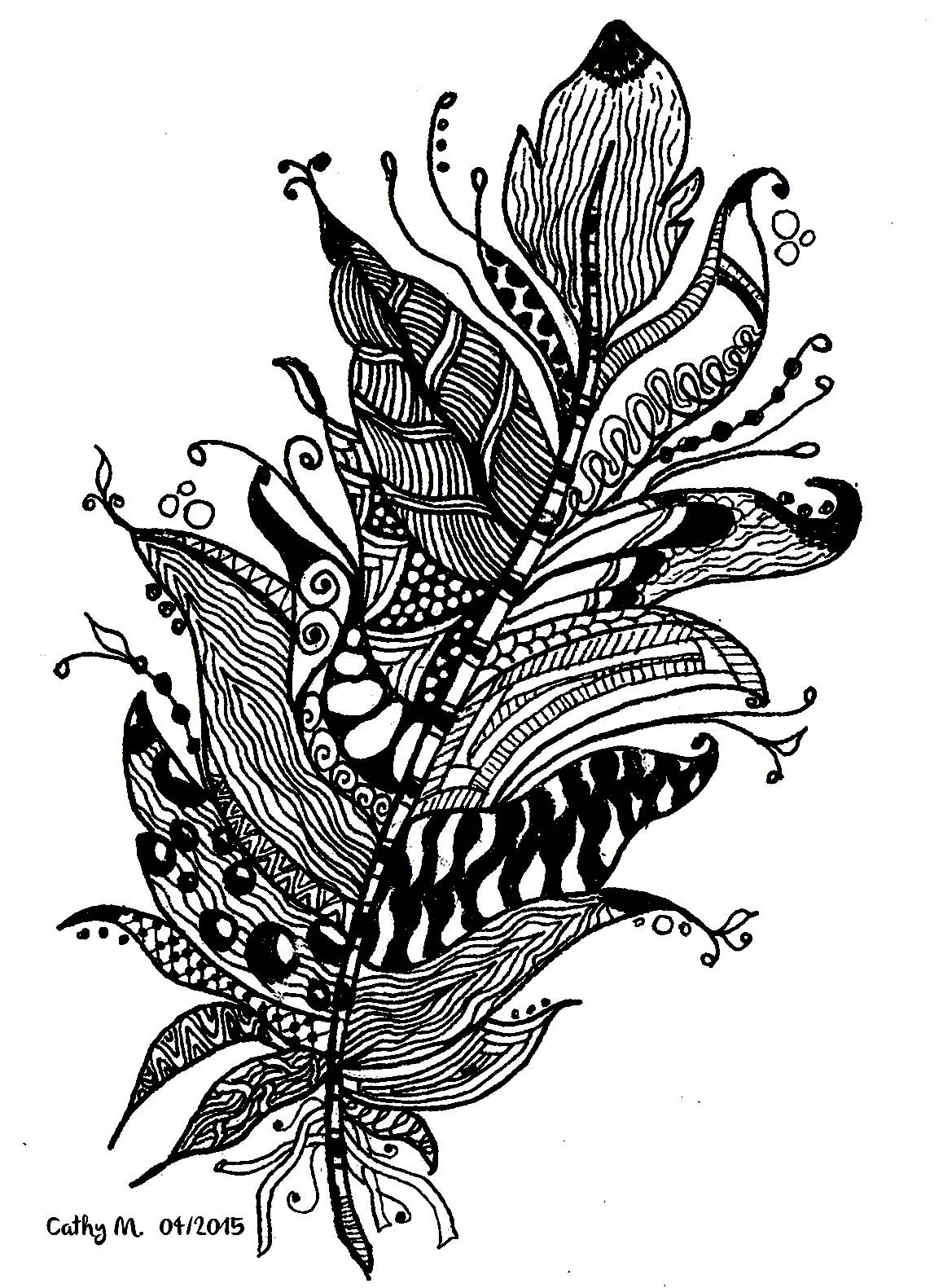 Cathym13 Fleurs Et Vgtation Coloriages Difficiles