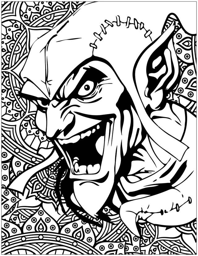 Mechants marvel Green Goblin Bouffon vert - Livres et Comics