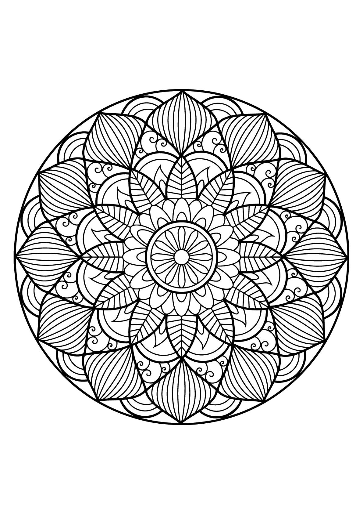 The Best 32 Mandala A Imprimer Gratuit