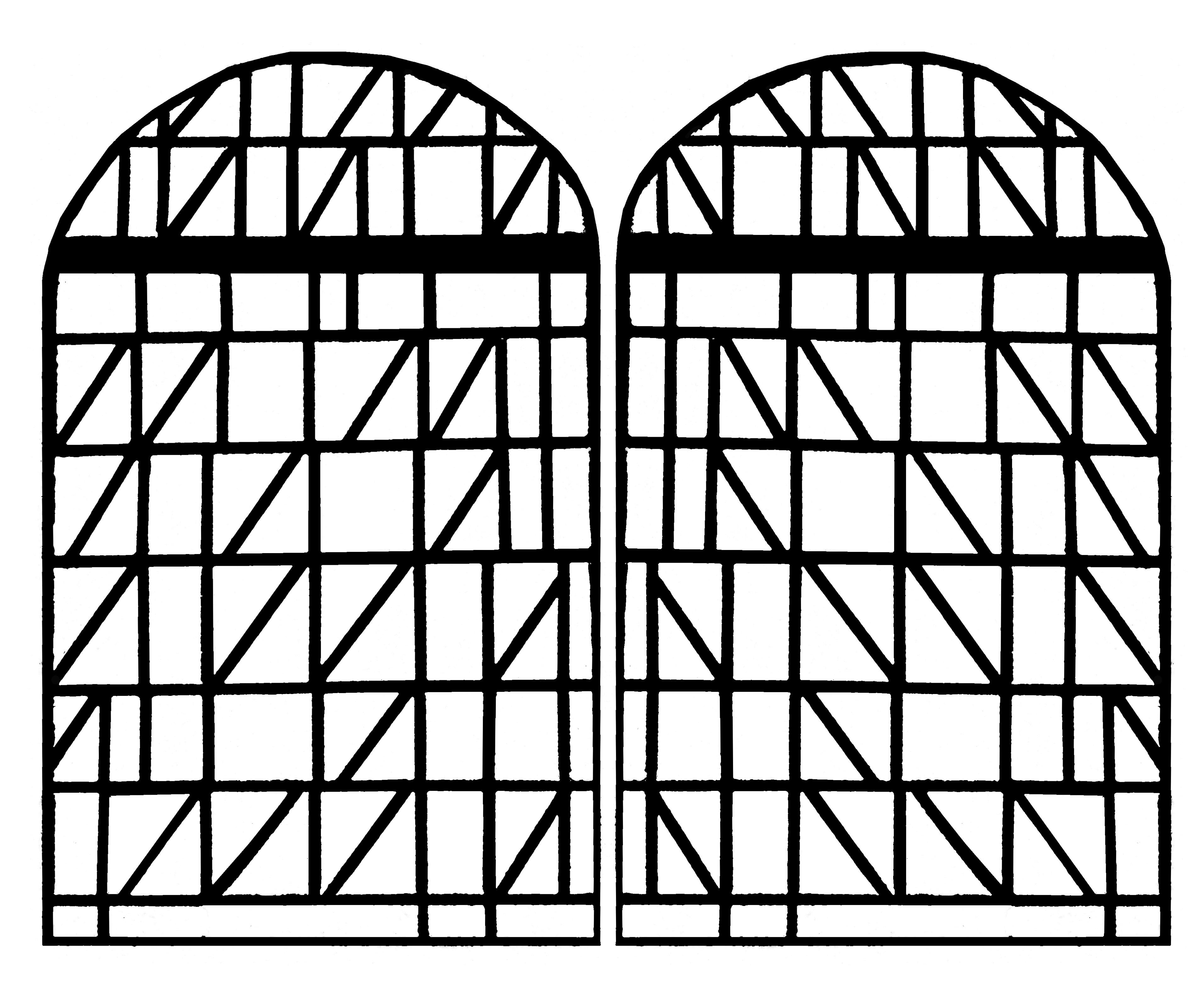 Vitrail moderne eglise villars sur glane france version 2