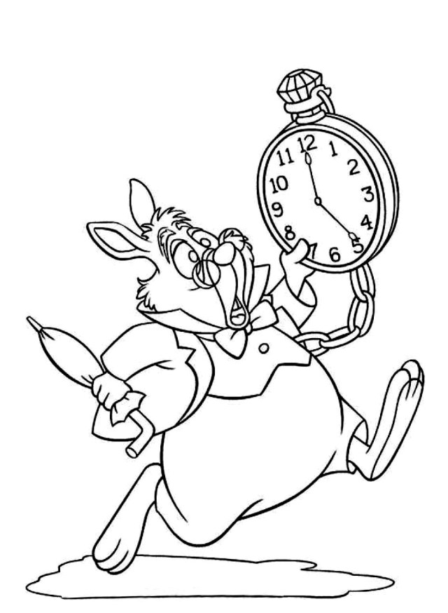 Alice for kids - Alice Kids Coloring Pages