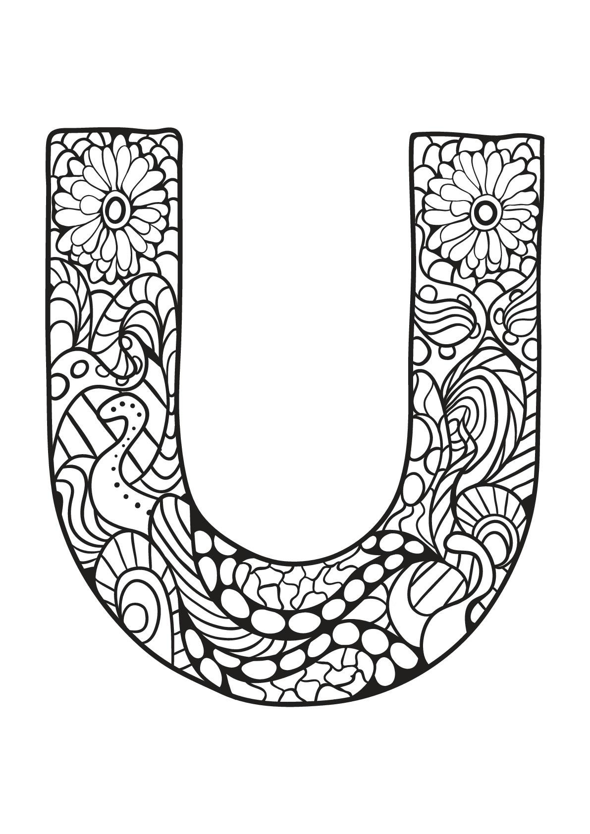 Alphabet To Print For Free U