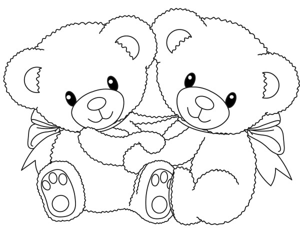 bears coloring pages # 3