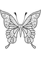 Butterflies free to color for kids   Butterflies Kids ...