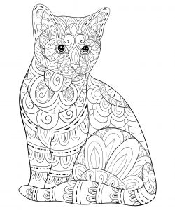 Cats Free Printable Coloring Pages For Kids