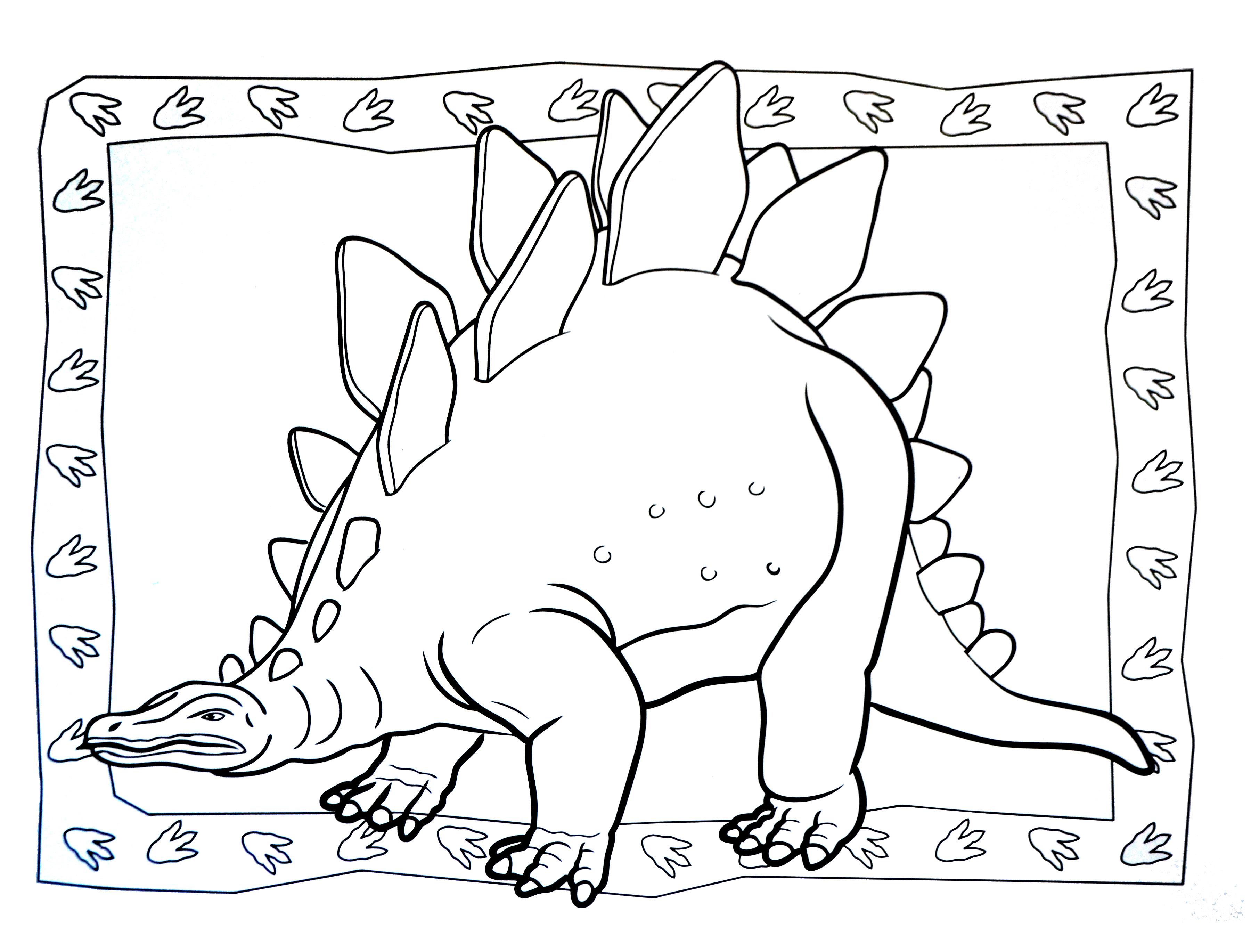 Dinosaurs To Print