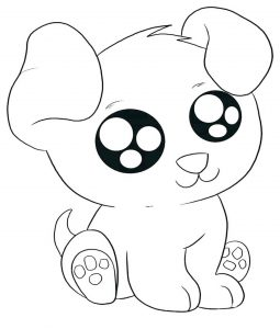free dog coloring pages # 17