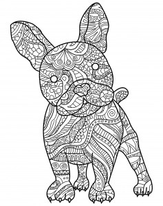 printable dog coloring pages # 12