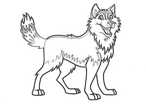 dog coloring pages printable # 5