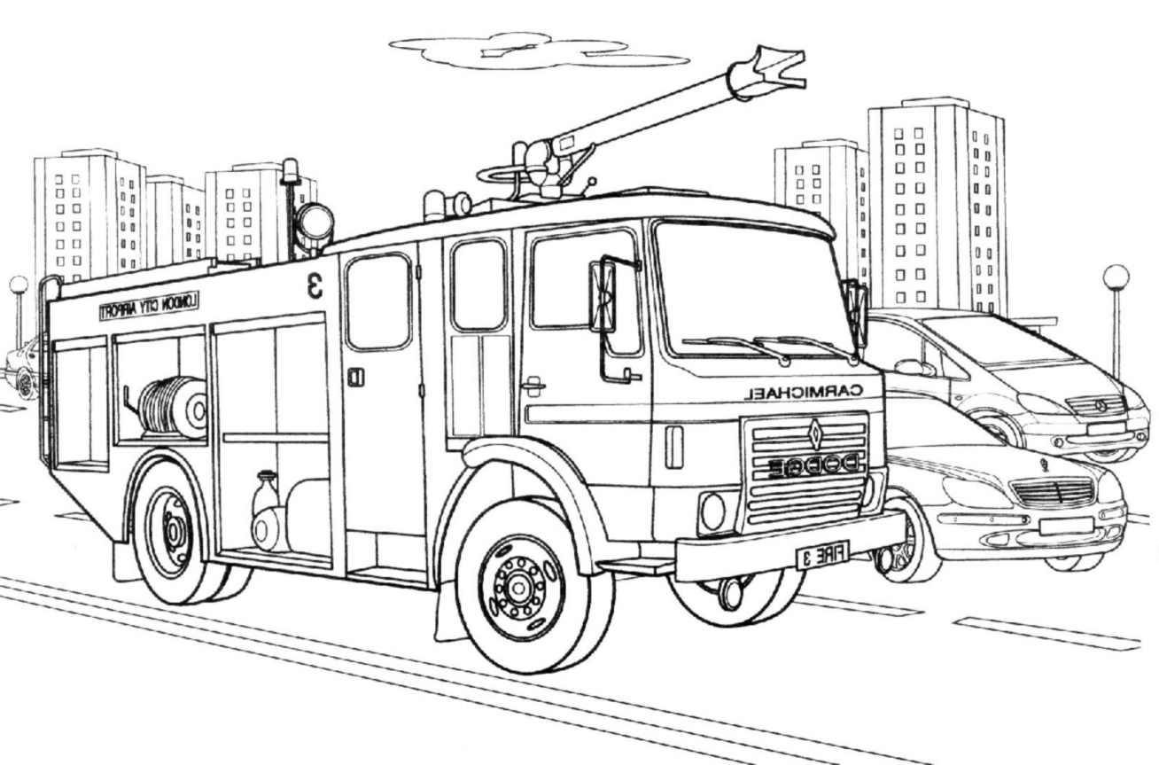 Color Fire Engine