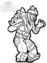 Fortnite Reaper Skin Coloring Page Super Fun Coloring Pages