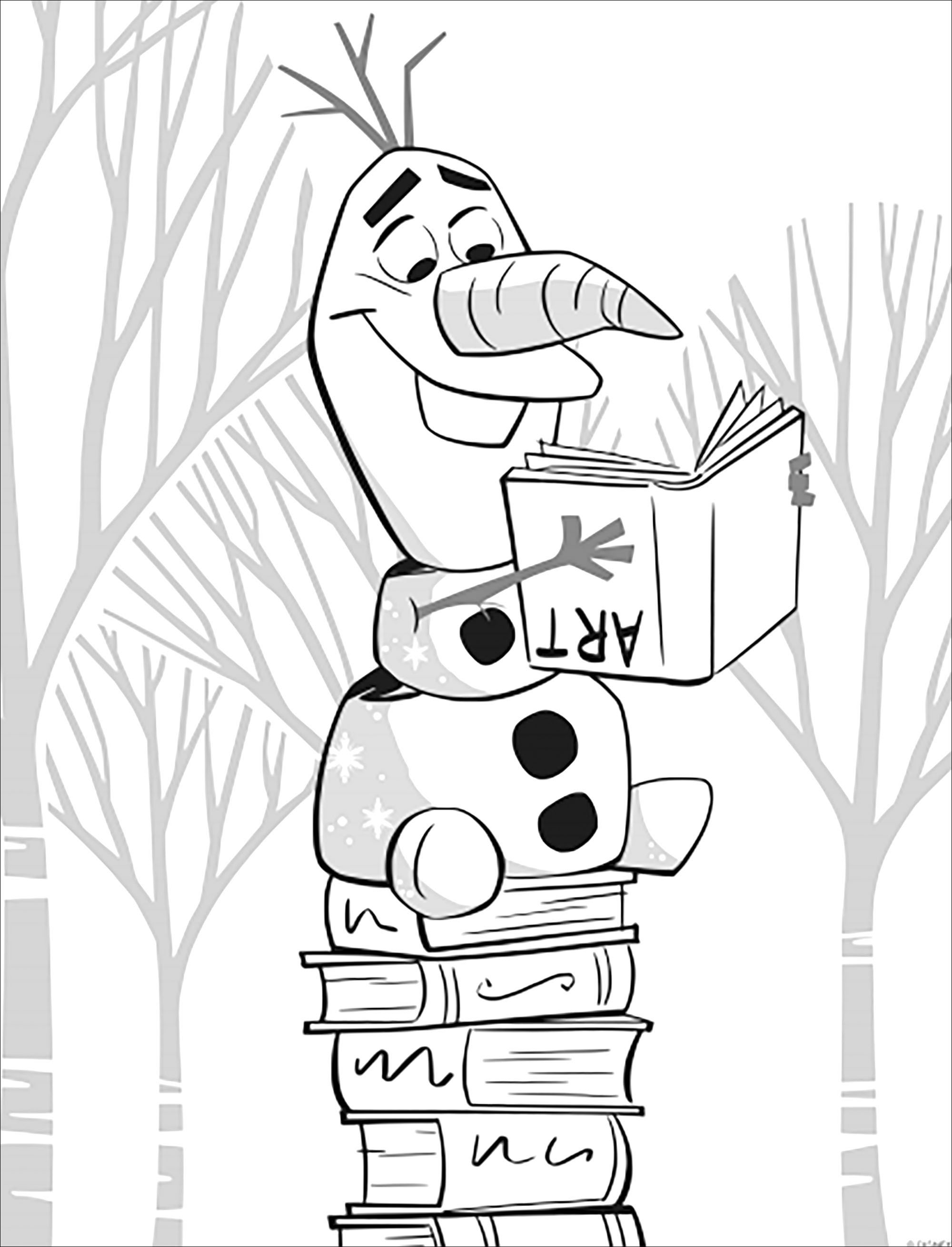Frozen 2 Olaf Without Text