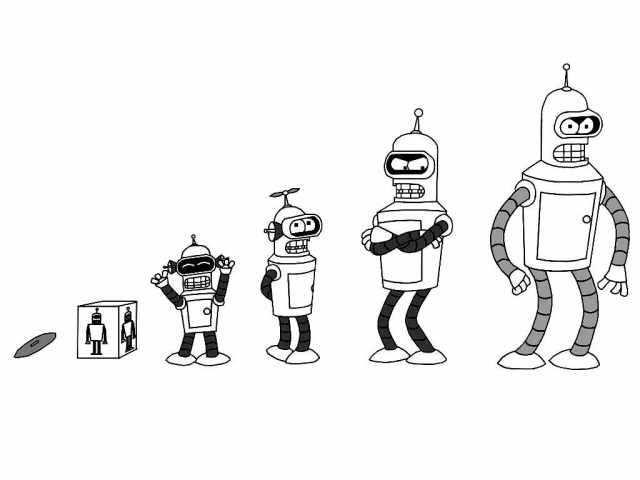 Futurama for children - Futurama Kids Coloring Pages