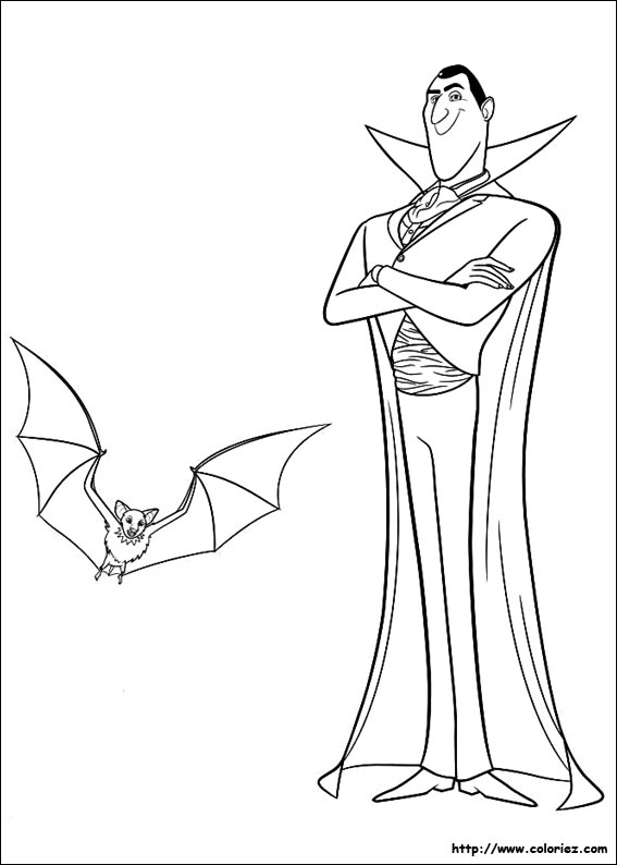 Dracula Coloring Pages Gallery