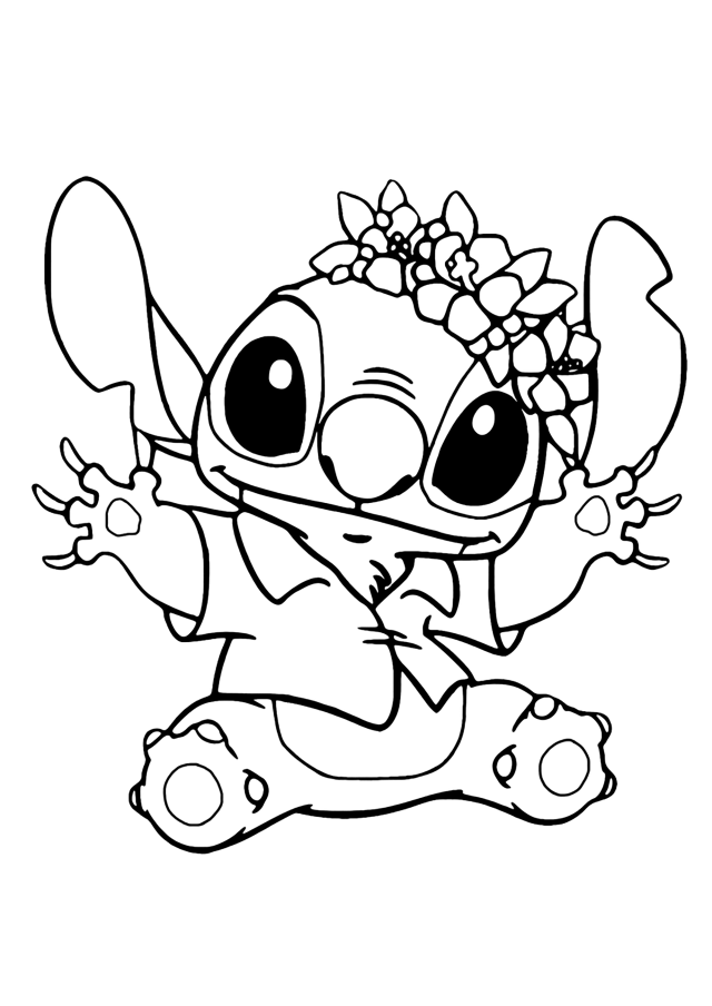 Lilo and stich to download for free - Lilo And Stich Kids Coloring