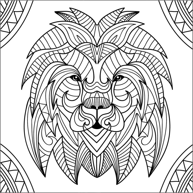 Lion For Kids