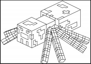 minecraft printable colouring sheets # 59