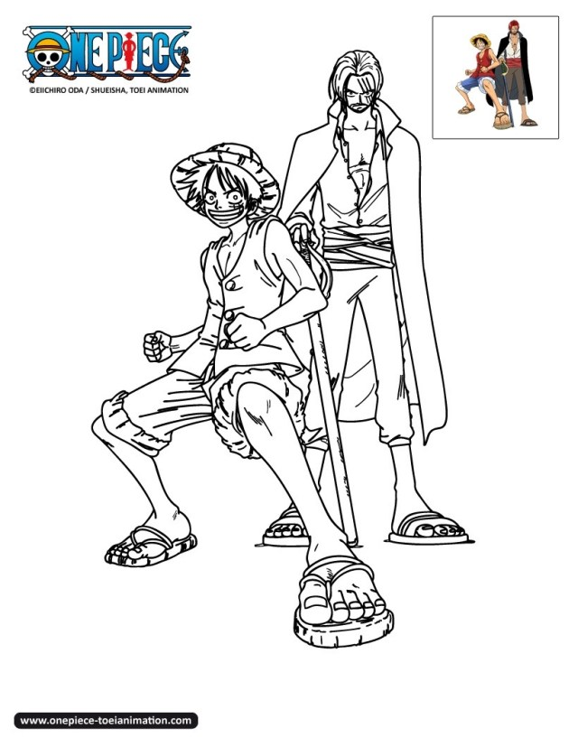 One piece to print for free - One Piece Kids Coloring Pages