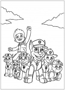 Paw Patrol Free Printable Coloring Pages For Kids