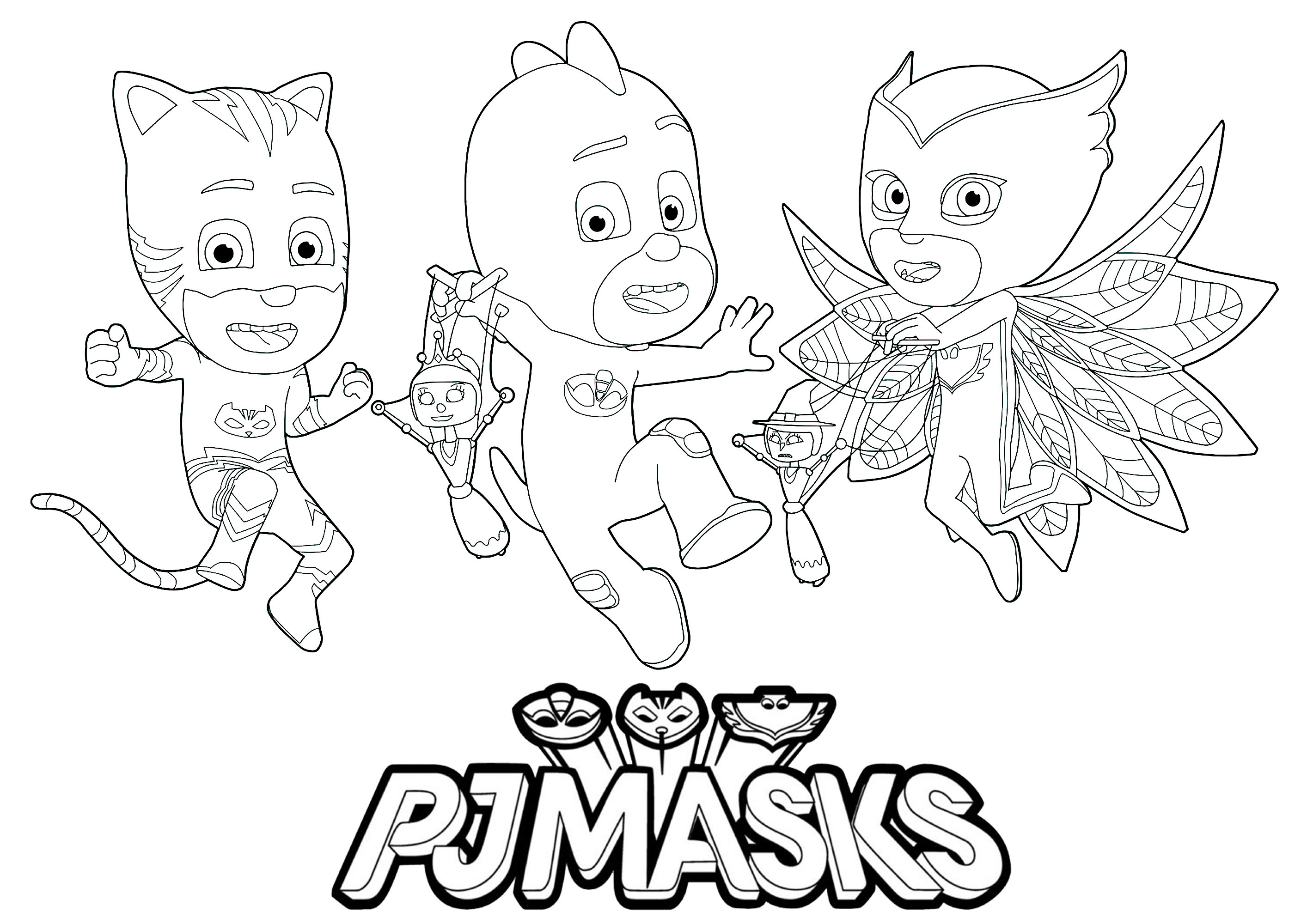 Pj Masks To Print For Free