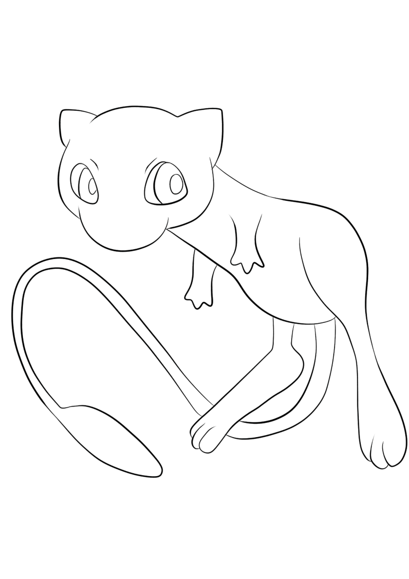 mew no.1  pokemon generation ii  all pokemon coloring