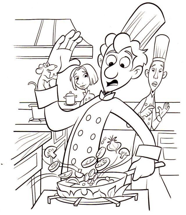 Ratatouille for kids - Ratatouille Kids Coloring Pages